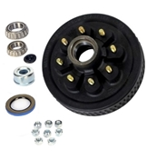 Dexter 8 on 6.5in EZ-Lube Hub & Drum Kit For 6K & 7K Axles w/9/16in Studs 8-219-13UC3-EZ