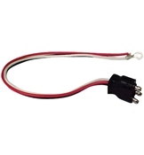 Optronics 3 Wire Straight Pigtail For Tail Lights A-45PB