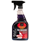 B.E.S.T. 32oz Black Cat High Shine Tire Dressing B43032