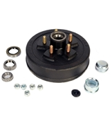 Redline 5 on 4.5in Hub & Drum Kit For 3.5K Axles HD84546BX