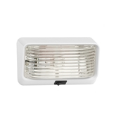 Bargman Exterior Porch/Utility Light W/White Base UPL78-517