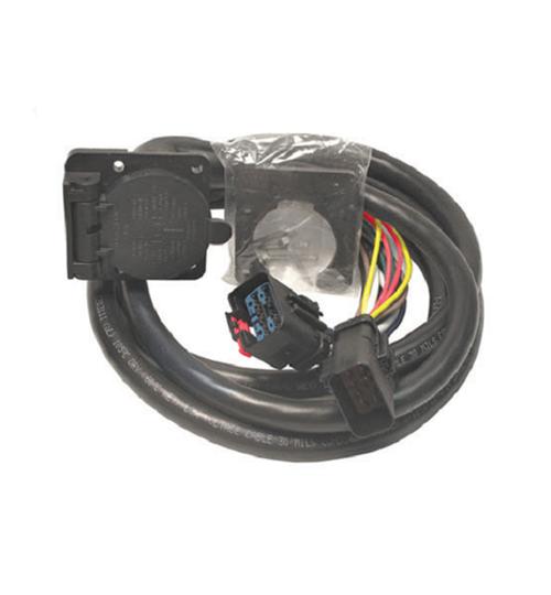Bargman 5th Wheel/Gooseneck Harness 7-way 90° Plug 5197411 on