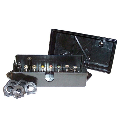 Swell Phoenix Usa 6 7 Pole Trailer Wiring Junction Box Jb10 170 Wiring Digital Resources Spoatbouhousnl