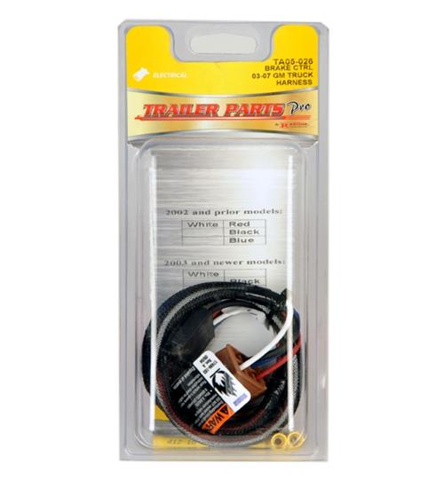 redline brake control harness 0307 gm ta05026