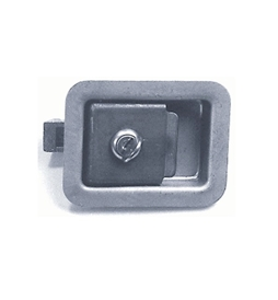 2 3/4 x 3 3/4 Locking Steel Flush Latch(Junior) L1980