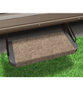 Presto-Fit 18in Walnut Brown Outrigger RV Step Rug 2-0311