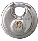 "Padlock w/3/8"" Shielded Shackle Keyed Alike 40KA"