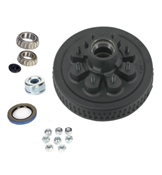 Dexter 8 on 6.5in EZ-Lube Hub & Drum Kit For 6K & 7K Axles 42866UC3-EZ