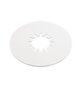 10in Polyethylene 5th Wheel Lube Plate 6011