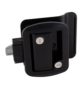 Global Travel Trailer Entrance Latch w/Lock Black AP013-570