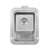 Redline 2 3/4 x 3 3/4 Locking Stainless Steel Flush Latch(Junior) HW05-040