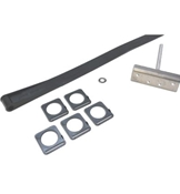 LCI Single Channel Flexguard Slide-Out Kit w/Hardware L1346271