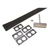 LCI Double Channel Flexguard Slide-Out Kit w/Hardware L1346281