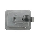 2 3/4 x 3 3/4 Locking Steel Flush Latch(Junior) w/Inside Release L1930