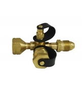 Marshall Brass Tee Connector For All Stay-Longer Propane Kits ME420P
