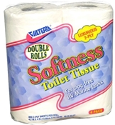 Valterra 4 Pack Double Roll Softness 2-Ply RV Toilet Tissue Q23638