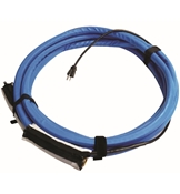 Valterra 12in x 50ft Blue Heated Water Hose For Use With AC Power Supply W01-5350