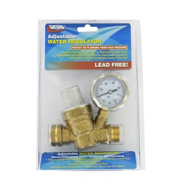Valterra Lead-Free Brass Adjustable Water Regulator A01-1117VP