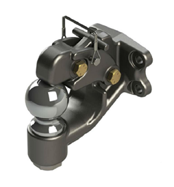 Wallace Forge 2 5/16in 16K Bolt-on Combo Pintle/Ball Hitch DPH2516