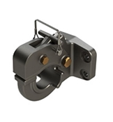 R15T Wallace Forge 30K Bolt-On Pintle Hitch Rigid Type with Bolt Kit