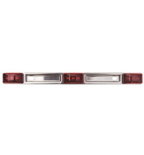 Optronics MCL83RBP Red LED Id Light Bar